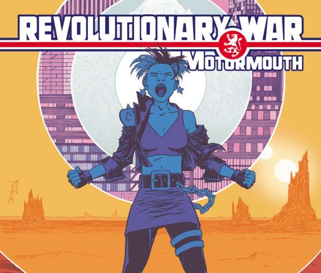 REVOLUTIONARY WAR: MOTORMOUTH 1 SHALVEY VARIANT (WITH DIGITAL CODE)