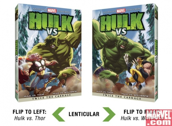 &quot;Hulk Vs&quot; Standard Edition (Lenticular Cover)