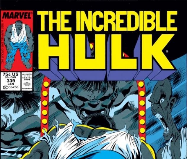 INCREDIBLE HULK #339 COVER