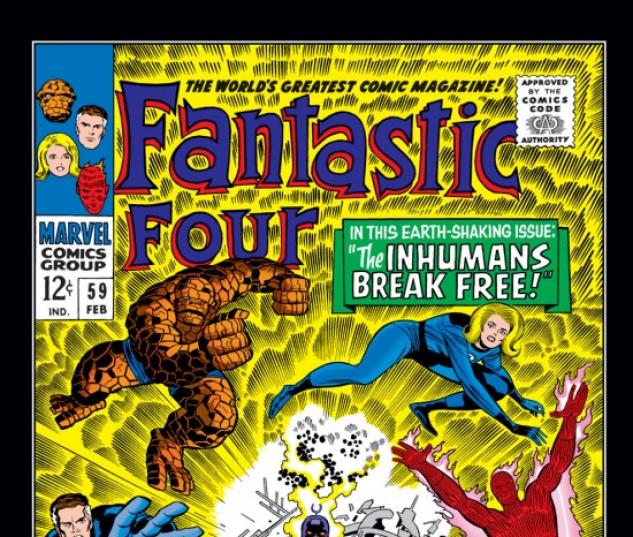 FANTASTIC FOUR #59