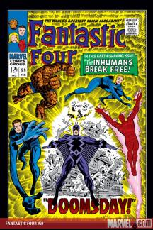 Fantastic Four (1961) #59