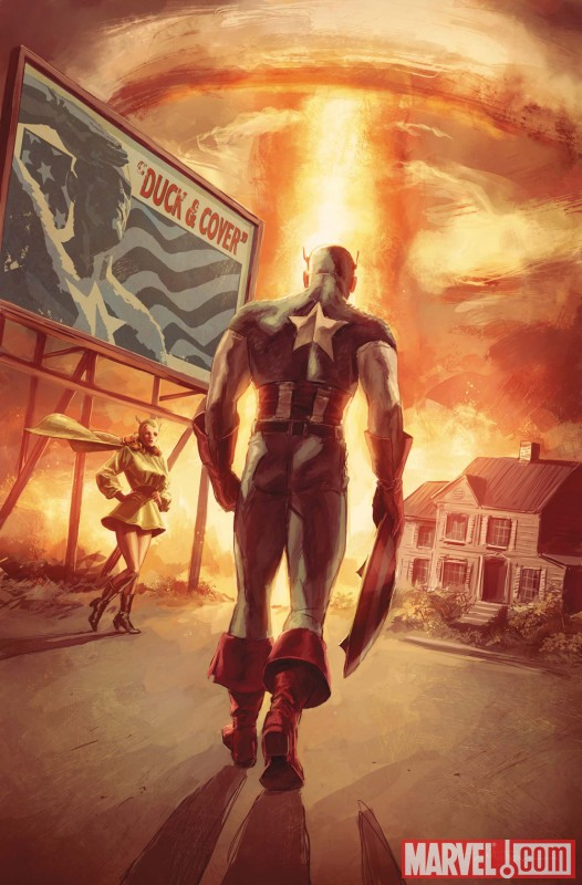 CAPTAIN AMERICA: PATRIOT #4 cover by Mitch Breitweiser
