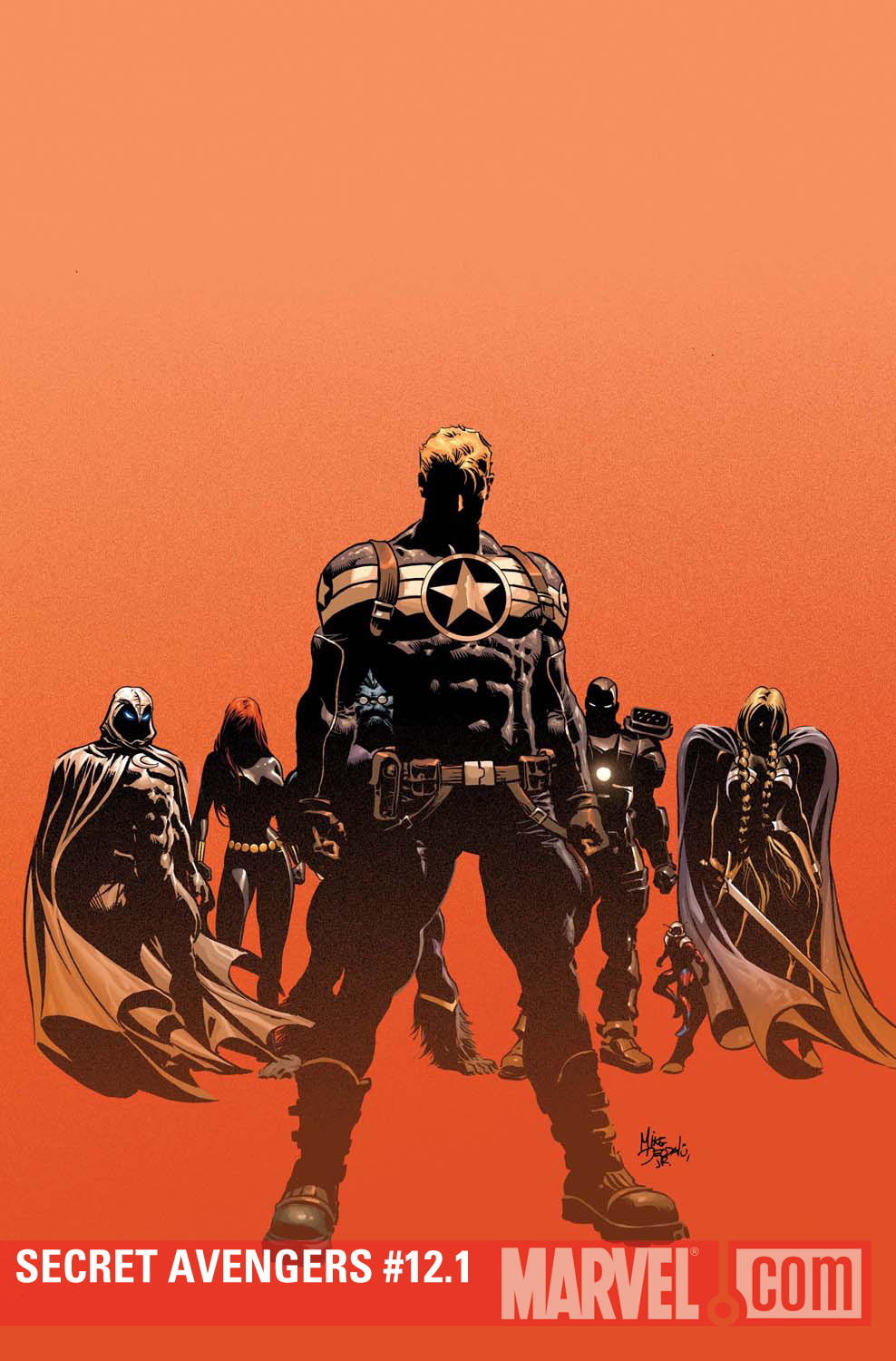 Secret Avengers #12.1 cover by Mike Deodato