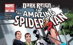 Amazing Spider-Man (1999) #596, 2nd Printing Variant