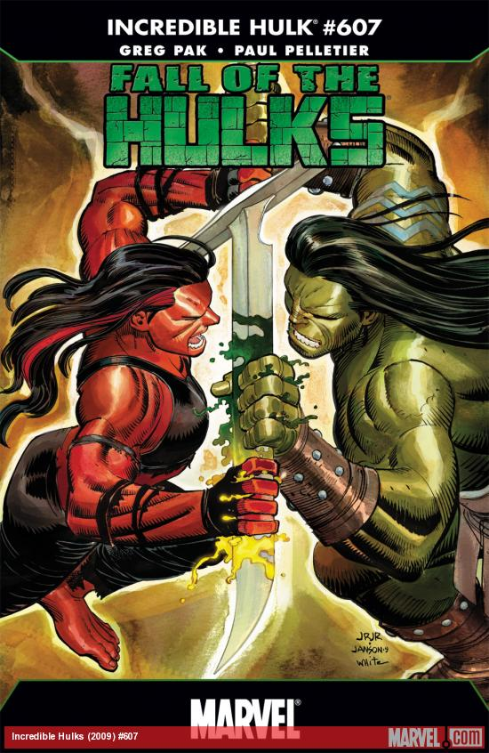 Incredible Hulks (2009) #607