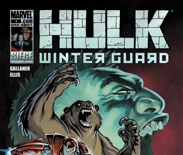 Hulk: Winter Guard One-Shot (2009) #1