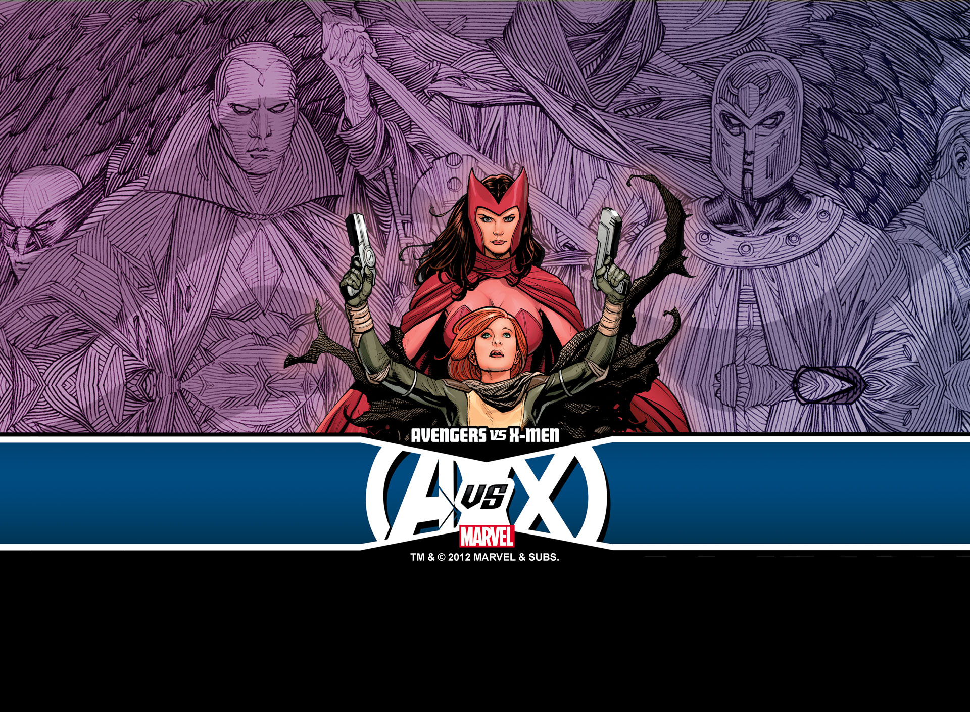 Avengers VS X-Men #0 (2012) Android 1920x1408 Wallpaper