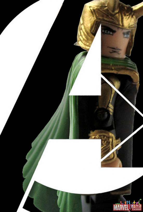 Marvel's The Avengers Loki Minimates Poster
