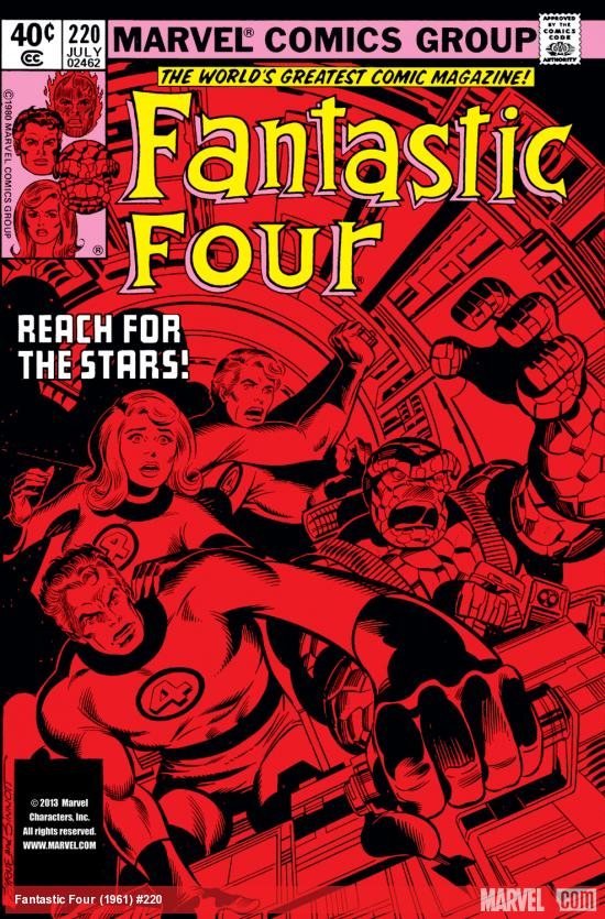 Fantastic Four (1961) #220 Cover