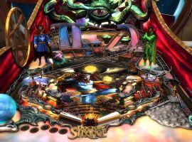 The Doctor Strange table for Marvel Pinball