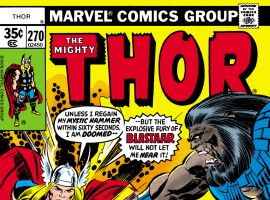 Thor (1966) #270 Cover