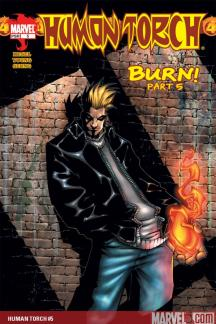 Human Torch (2003) #5