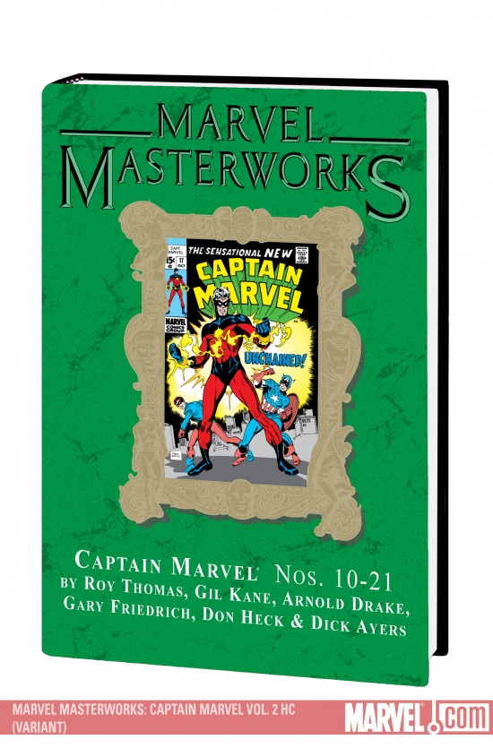 MARVEL MASTERWORKS: CAPTAIN MARVEL VOL. 2 HC (VARIANT) #0
