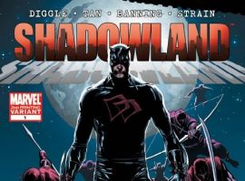 SHADOWLAND #1 NEW COSTUME SECOND PRINTING VARIANT cover by Billy Tan