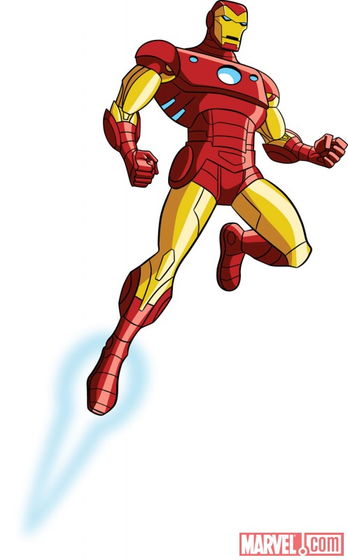 Iron man animated avengers - photo#17