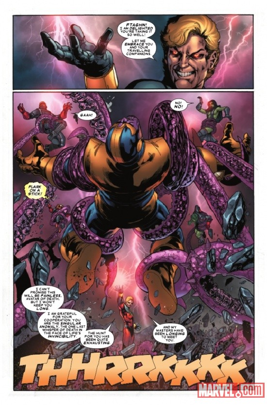 THE THANOS IMPERATIVE #6 preview page by Miguel Sepulveda 