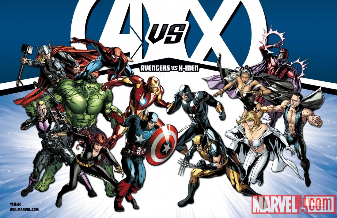 Avengers VS X-Men litho-size promo
