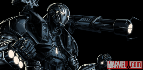 War Machine from Marvel: Avengers Alliance