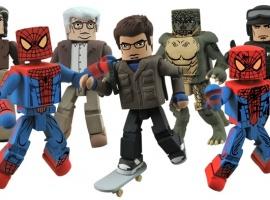 "Diamond Select Toys ""Amazing Spider-Man"" minimates"