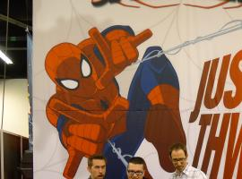 WonderCon 2012: Steven Seagle, Ryan Penagos and Joe Kelly at the Marvel Booth