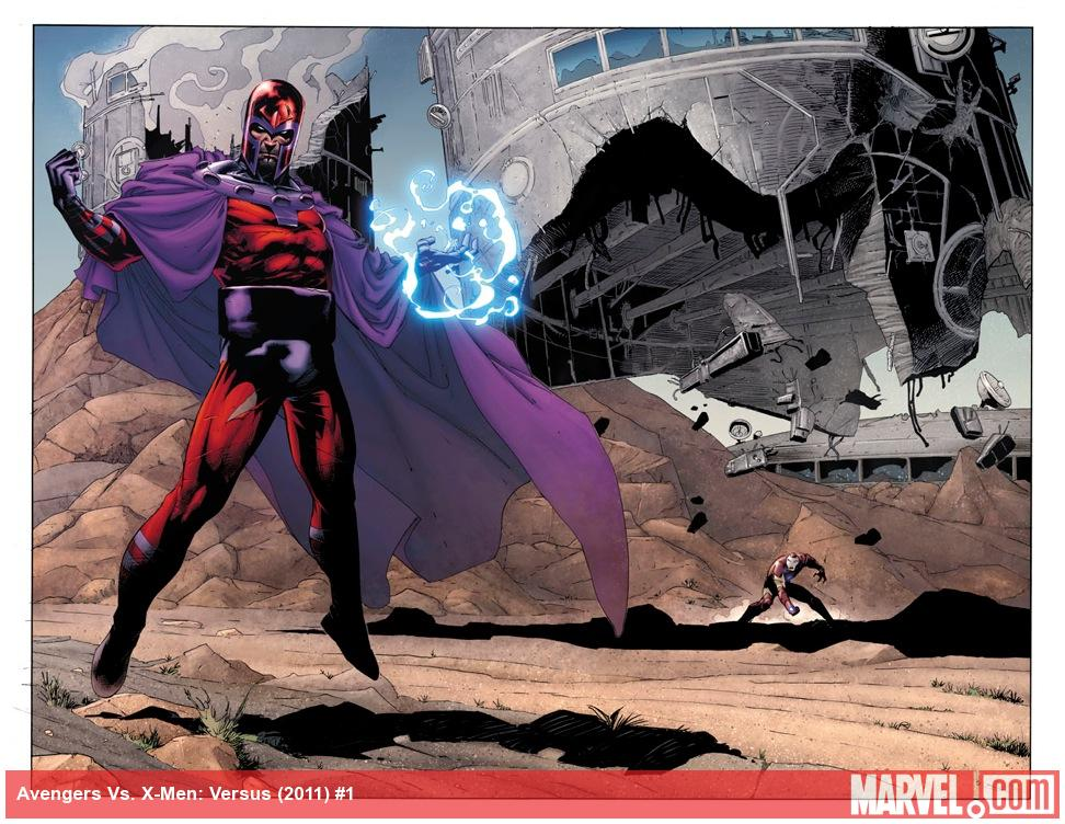 AvX: VS #1 preview art by Adam Kubert