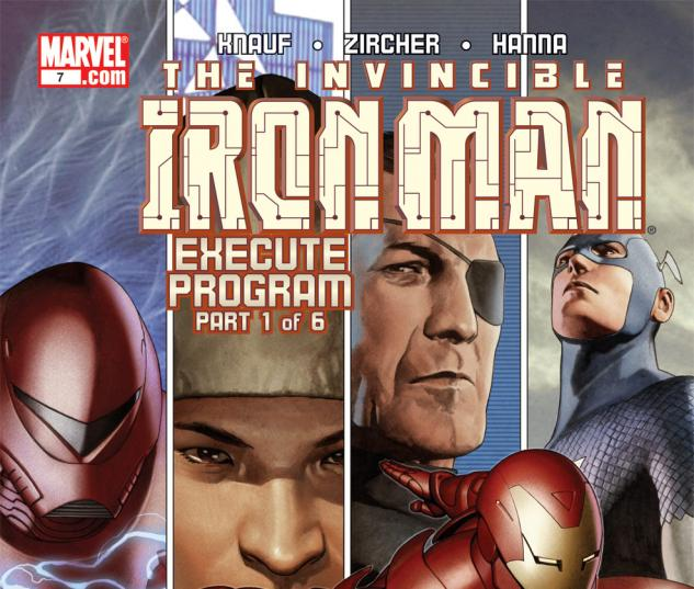 Iron Man (2004) #7