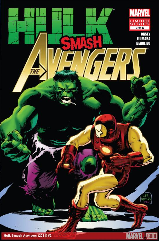 Hulk Smash Avengers (2011) #2