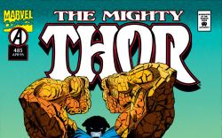 Cover for Thor (1966) #485