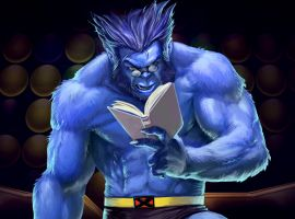 Beast in Marvel Puzzle Quest