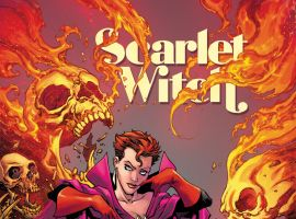 Scarlet Witch (2015) #1 variant cover by Tom Raney