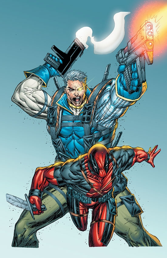 CABLE & DEADPOOL (2001) #2 COVER