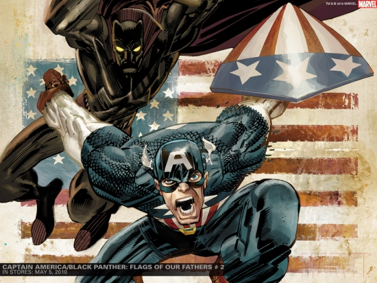Captain America/Black Panther: Flags of Our Fathers (2010) #2 Wallpaper