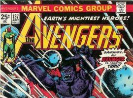 AVENGERS #137 cover