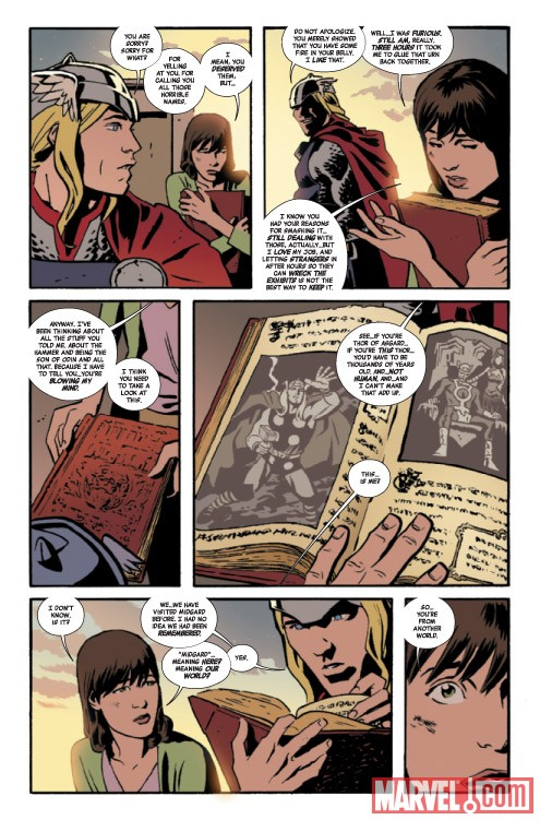 THOR: THE MIGHTY AVENGER #2 preview art by Chris Samnee