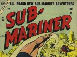 SUB-MARINER COMICS #38 cover