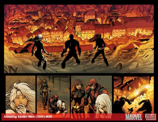 Amazing Spider-Man #686 preview art by Stefano Caselli