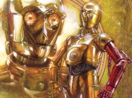 Star Wars Special: C-3PO #1 cover by Tony Harris