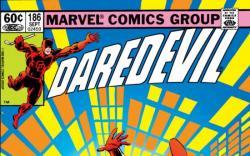 DAREDEVIL #186 COVER