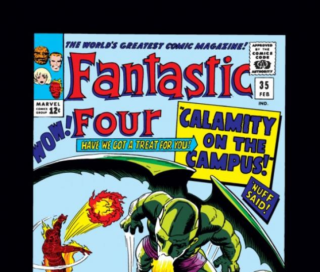 FANTASTIC FOUR #35