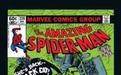 AMAZING SPIDER-MAN #226 COVER