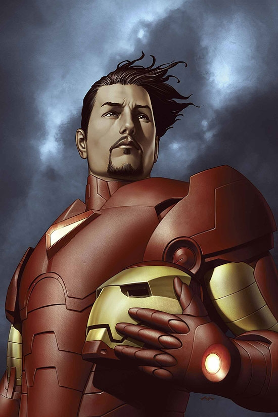 IRON MAN (2005) #3 COVER