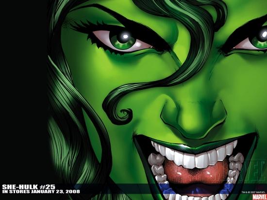 She-Hulk (2005) #25 Wallpaper