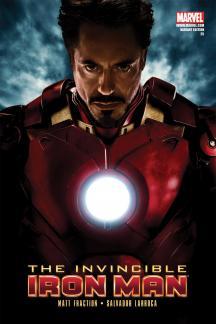 Invincible Iron Man #25  (MOVIE VARIANT)