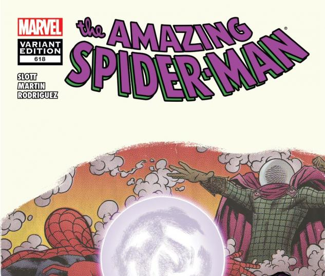Amazing Spider-Man (1999) #618, Villain Variant