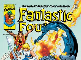 Fantastic Four (1998) #28 Cover