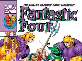 Fantastic Four (1998) #21 Cover