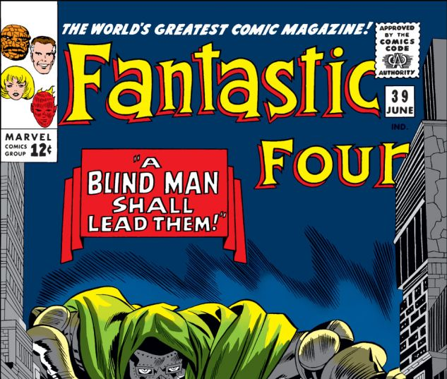 Fantastic Four (1961) #39 Cover