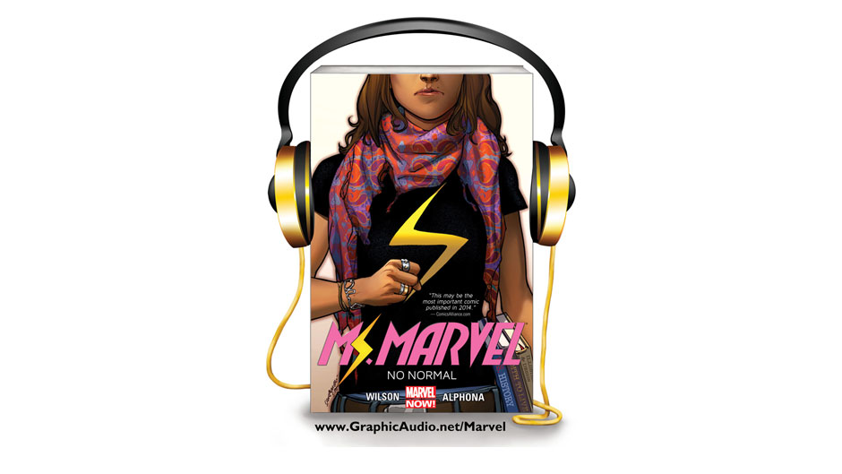 Ms. Marvel Coming to GraphicAudio