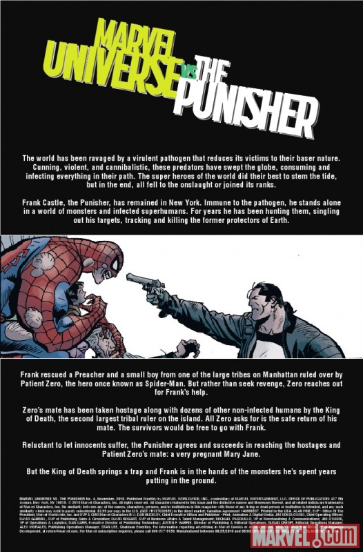 MARVEL UNIVERSE VS. THE PUNISHER #4 recap page