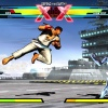 "Screenshot of Ryu vs. Iron Fist in ""Ultimate Marvel vs. Capcom 3"""